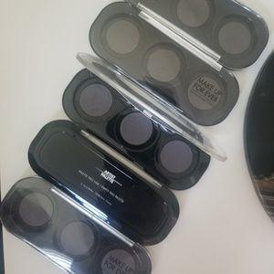 Makeup Forever empty trio palette